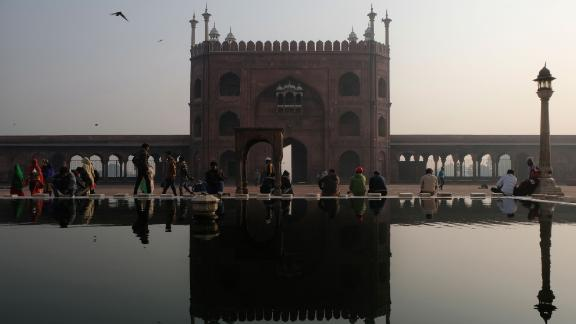 New Delhi, India: One of the largest mosques in India, Jama Masjid was commissioned by the Mughal emperor Shah Jahan and completed in 1656.