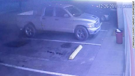 Police say the unidentified man drove a gray, extended-cab Dodge Ram pickup.