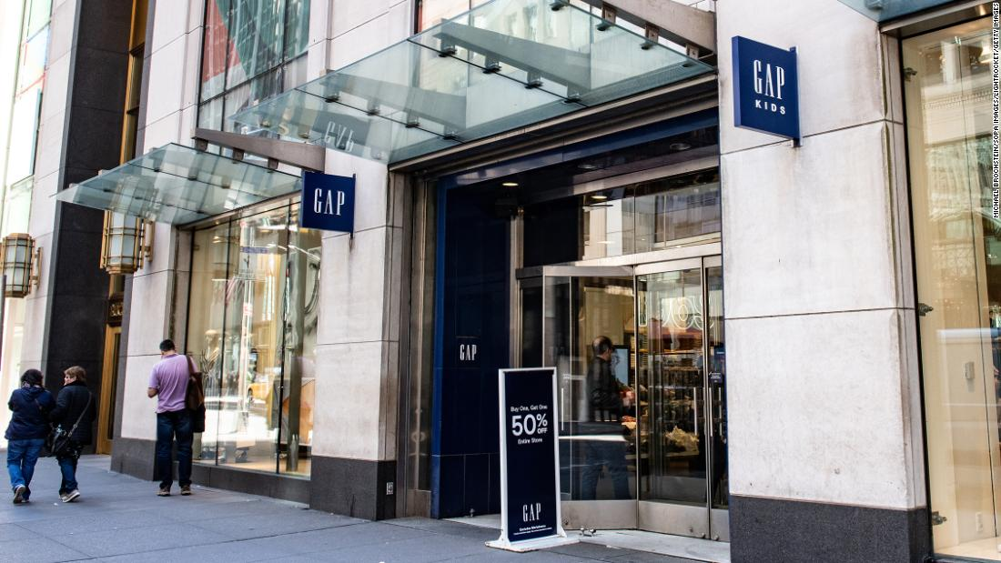8e8222a2bb07f Gap will close its New York flagship store - CNN