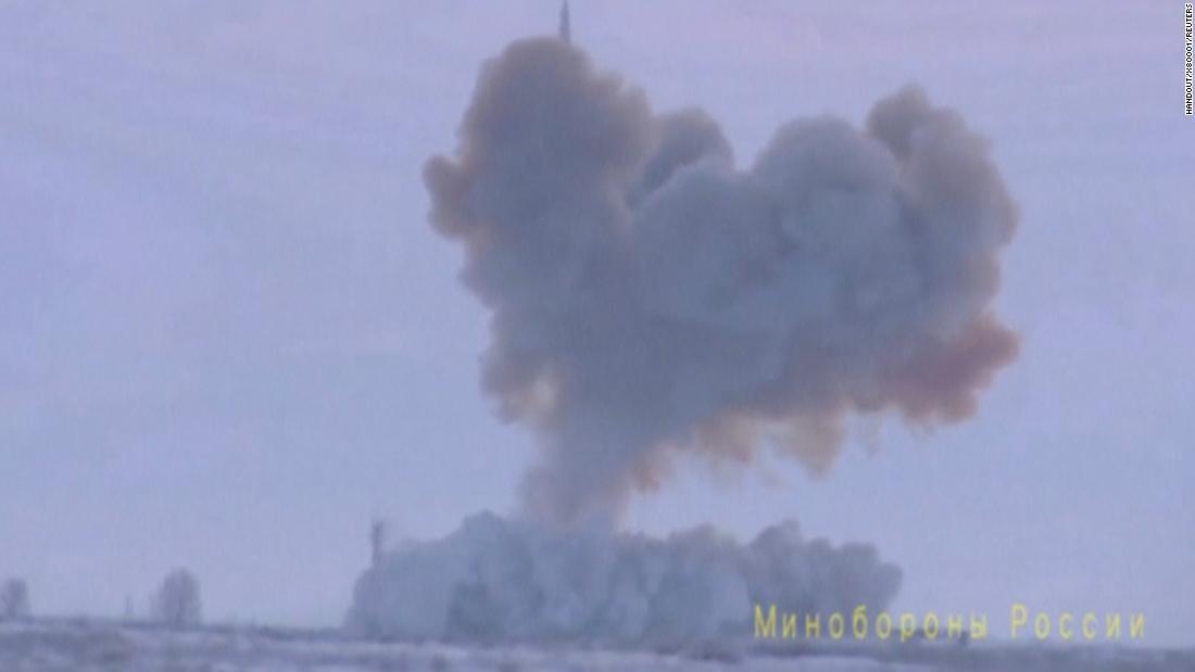 Russland setzt Hyperschall-Rakete in 'combat duty