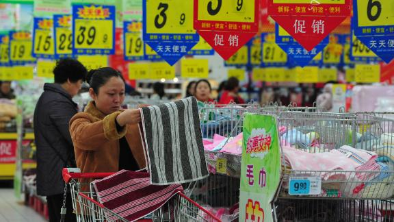 Spending by consumers has become an increasingly important part of China