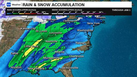 New winter storm expected to ring in 2019