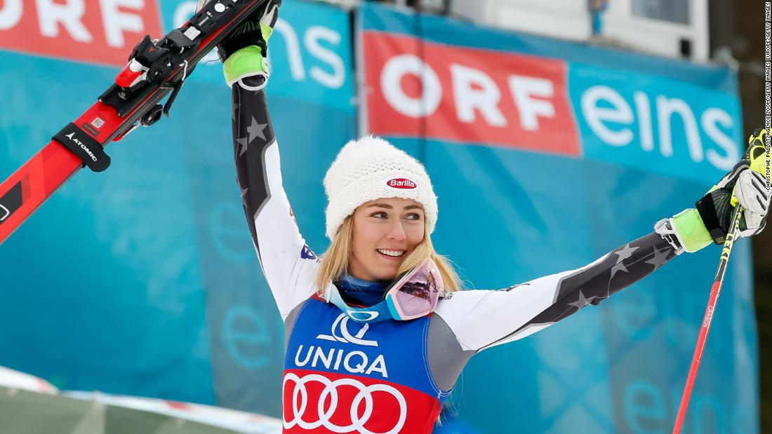 Records tumble as Shiffrin ends 2018 on a high