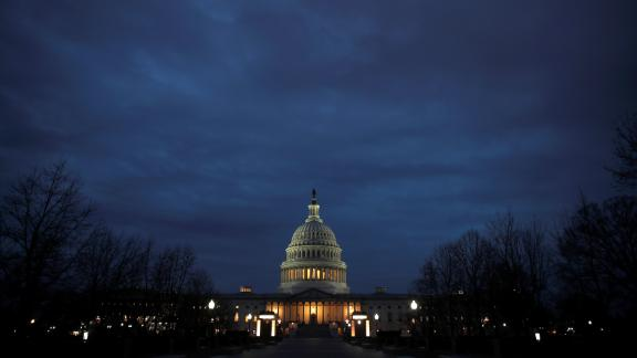 Capitol Hill is seen as a partial U.S. government shutdown continues in Washington, U.S., December 30, 2018.  REUTERS/Jim Young