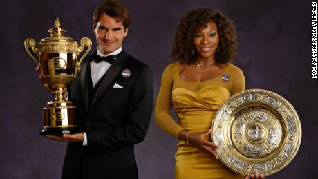 Roger Federer and Serena Williams have won 43 grand slam singles titles between them during their illustrious tennis careers.