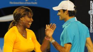 Serena tunes up for Federer clash with winning competitive return