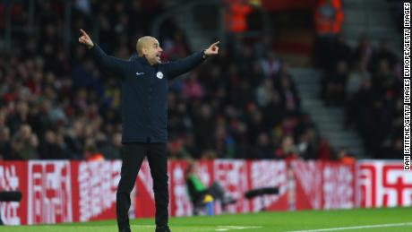 Manchester City manager Pep Guardiola says that his team can't afford to drop points as it chases Liverpool.