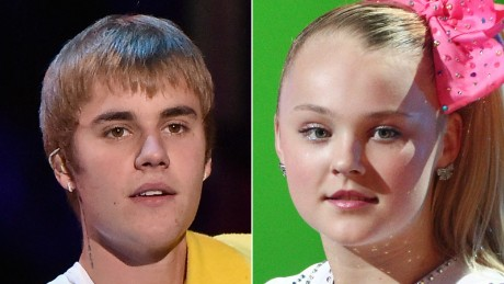Justin Beber was not a fan of JoJo Siwa's new ride.