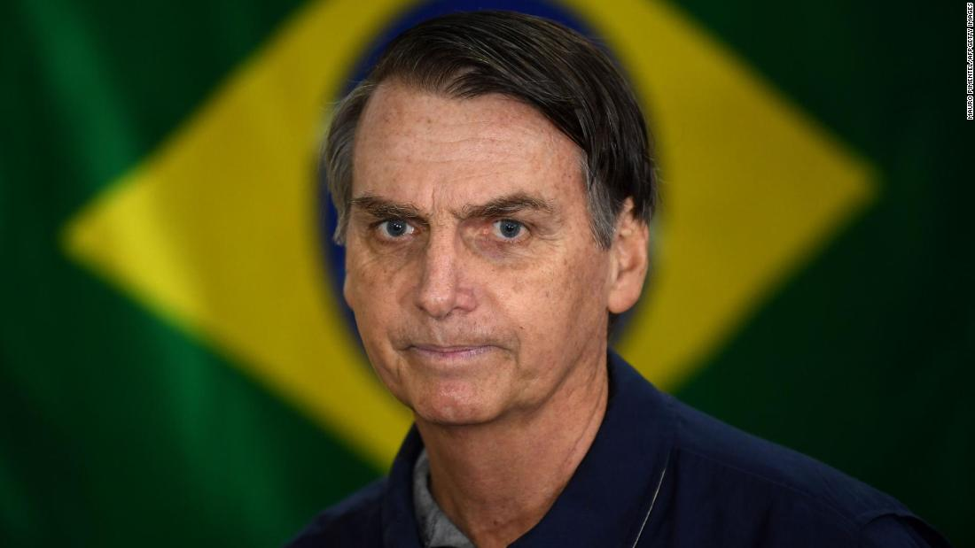 Brazilian President Jair Bolsonaro tells followers he had lung screening - CNN thumbnail