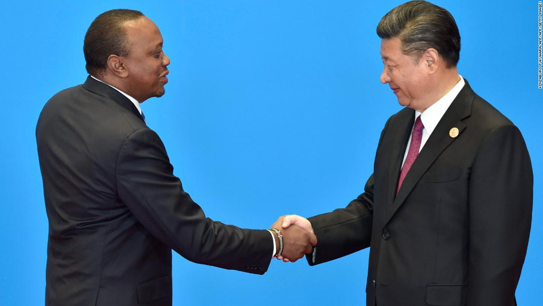 Kenyan president's office denies claims he is 'missing' after China trip