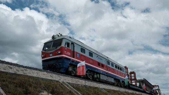 A rail link between the Kenyan cities of Mombasa and Nairobi has been a boon to passengers, but critics say it cost too much and leaves the country exposed to China.