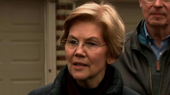 Elizabeth Warren 2020 announcement 12/31.