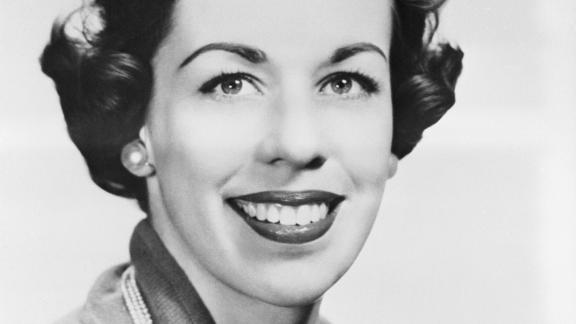 A young Burnett is seen in an undated portrait. Burnett was born in San Antonio in 1933, and she later moved to Los Angeles, where she attended UCLA and took theater-arts classes.