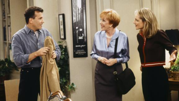 """In the late 1990s, Burnett had a recurring role playing Helen Hunt's mother in the TV series """"Mad About You."""""""