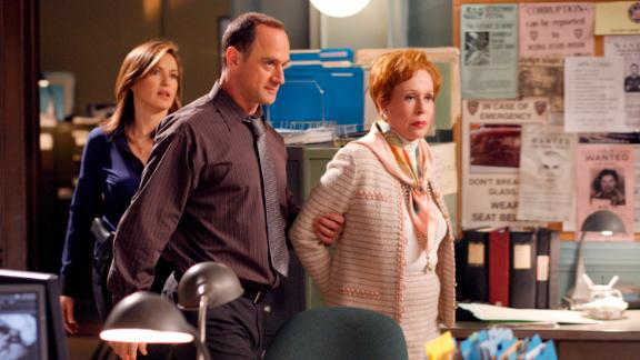 """Burnett appears in a 2009 episode of """"Law & Order: Special Victims Unit."""""""