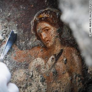 Truth about Pompeii's sexually explicit mural