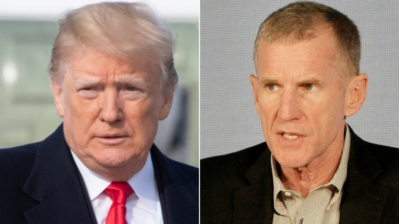 Trump attacks McChrystal after retired general called Trump immoral