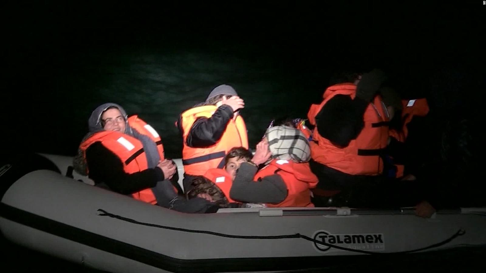 Migrants Attempt Trips Across English Channel Cnn Video