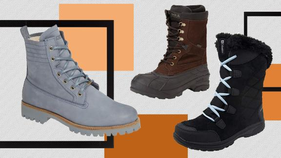 waterproof and snowproof winter boots