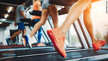 Picture of people running on treadmill in gym; Shutterstock ID 740173834; Job: -