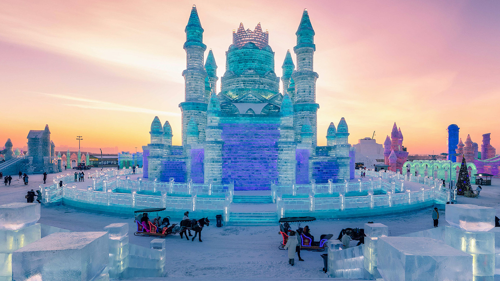 Google News - Harbin International Ice and Snow Sculpture Festival - Latest