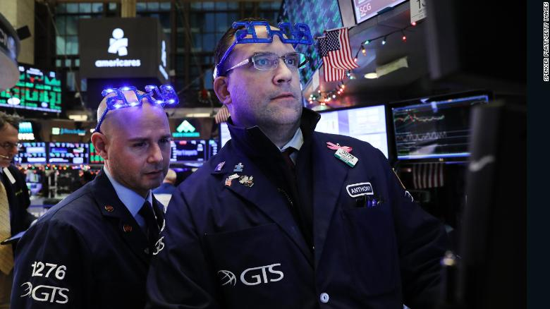 Stocks swing on first trading day of 2019