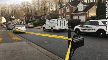 Two teens died Monday in suburban Atlanta, one accidentally and one by suicide, police said.