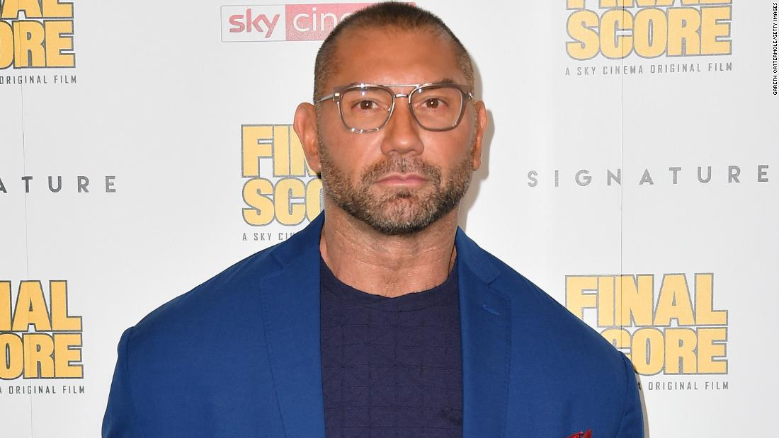 "Look for former professional wrestler and ""Guardians of the Galaxy"" star Dave Bautista to finish the day strong on January 18."