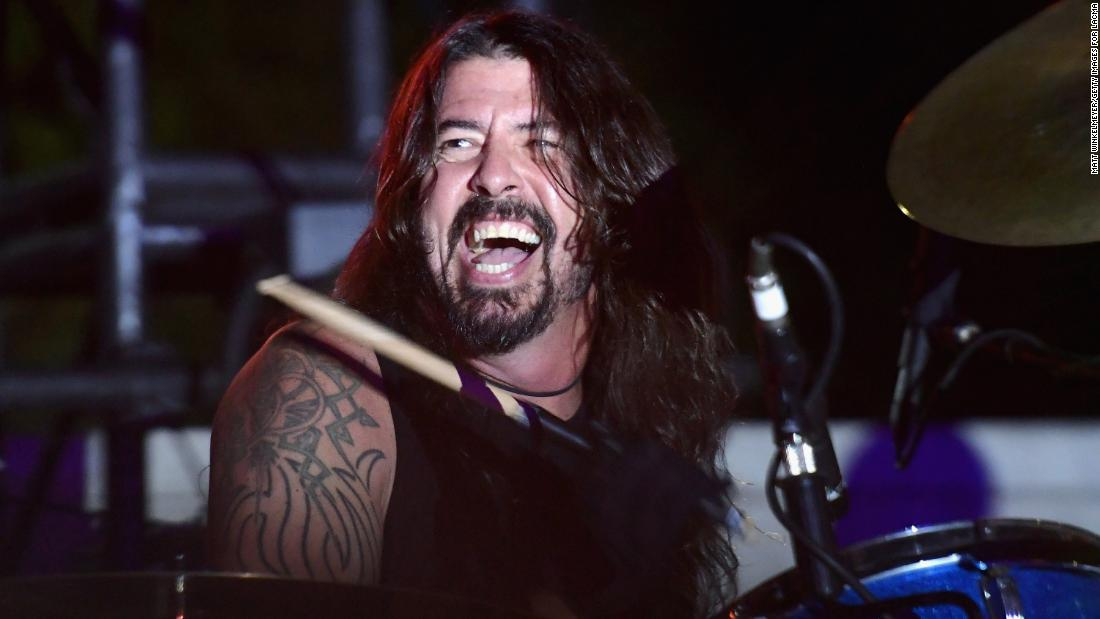 Strike up the band! Foo Fighters frontman Dave Grohl also celebrates his milestone birthday on January 14.
