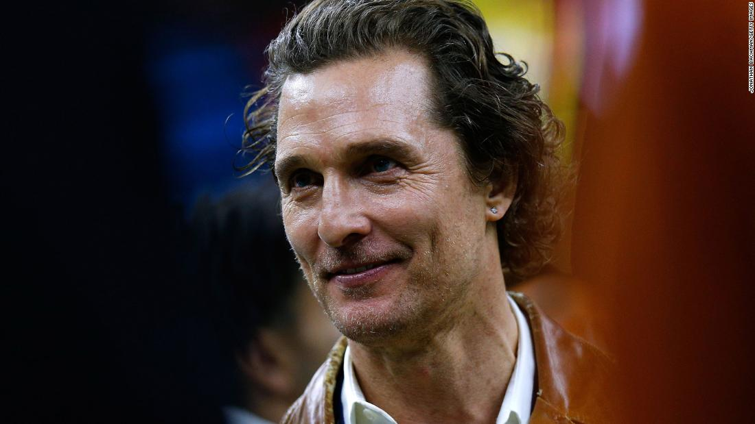 Matthew McConaughey has some lessons on fatherhood