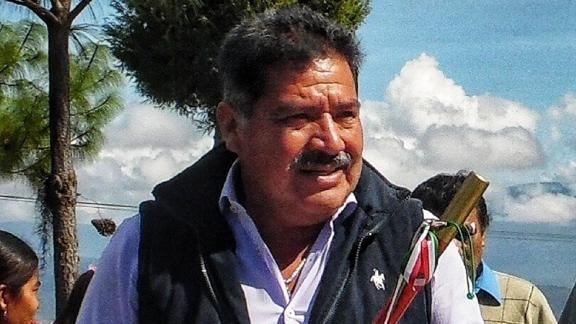 Tlaxiaco Mayor Alejandro Aparicio was on his way to city hall on Tuesday when he was shot.