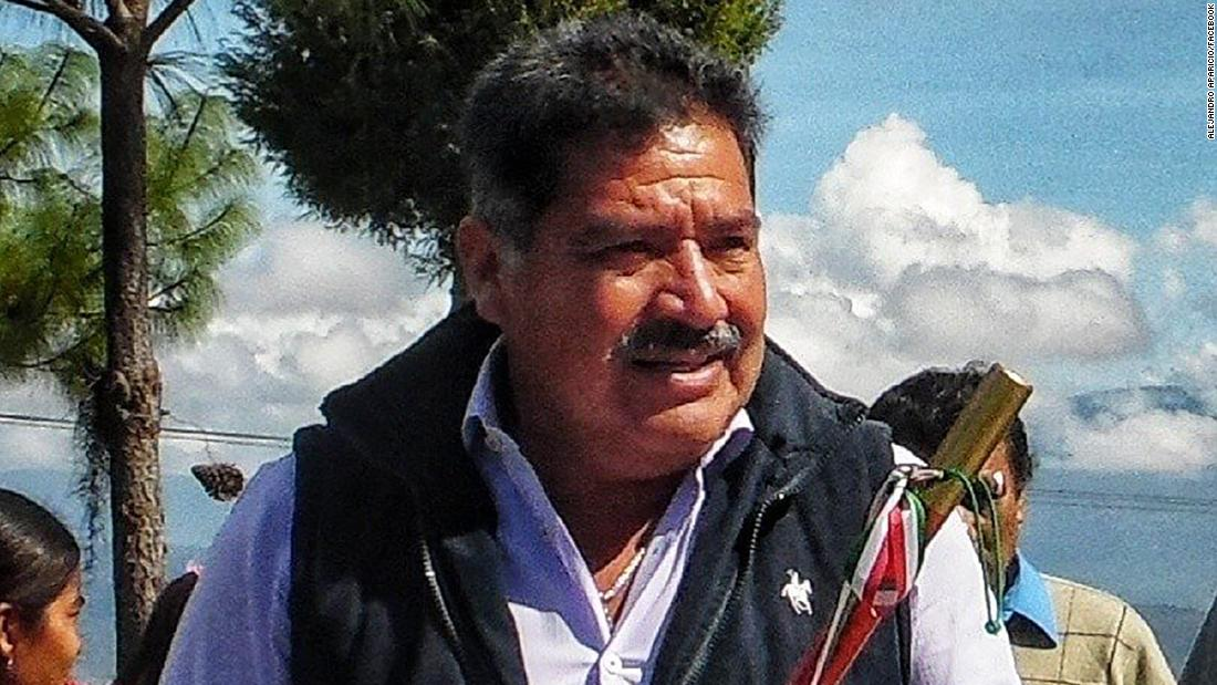 A mayor in Mexico was killed less than 2 hours after taking office
