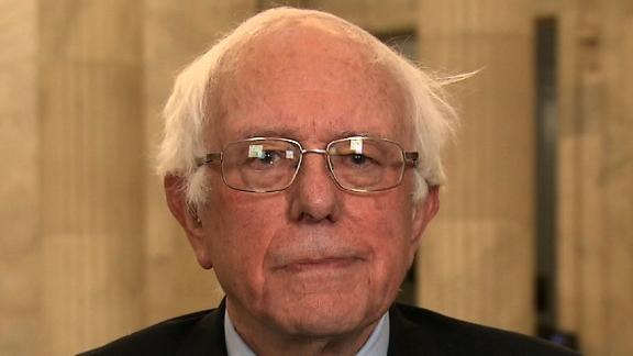 Bernie Sanders on AC360.