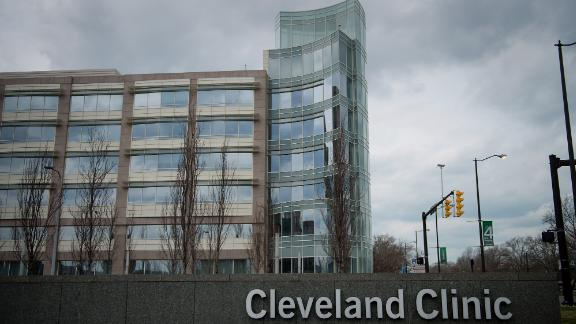 The Cleveland Clinic, one of the top rated hospitals in America, stands in Cleveland, Ohio, U.S..
