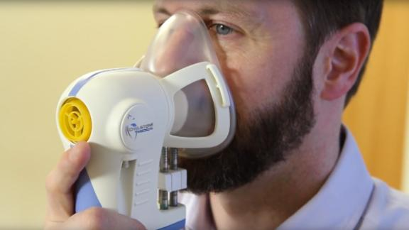 A two-year trial into a clinical device, called the Breath Biopsy, will see if exhaled airborne molecules can be useful for cancer detection.