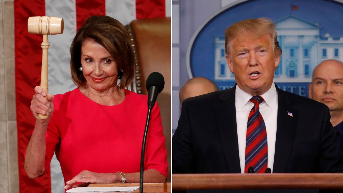 Pelosi plays by her own rules and strikes out Trump
