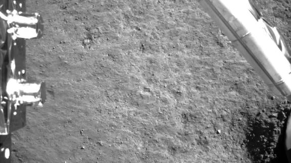 Another image of the moon taken by the probe.