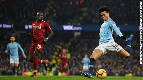 51be4f640d7 Liverpool FC  Leroy Sane strikes for Manchester City to reignite ...