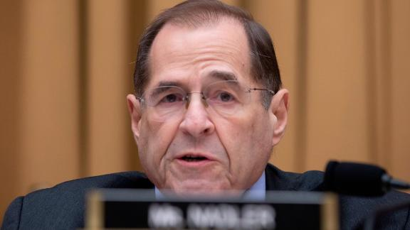 Ranking member of the House of Representatives Judiciary Committee Rep Jerry Nadler, Democrat of New York, gives his opening statement prior to the testimony of United States Homeland Security Secretary Kirstjen Nielsen before the House of Representatives Judiciary Committee on Capitol Hill in Washington, DC on December 20, 2018. Credit: Alex Edelman / CNP | usage worldwide Photo by: Alex Edelman/picture-alliance/dpa/AP Images