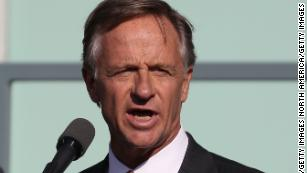 Gov. Bill Haslam on April 4, 2018, in Memphis, Tennessee.