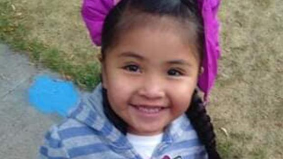 Allison Eaglespeaker, 6, died from flu on December 1.