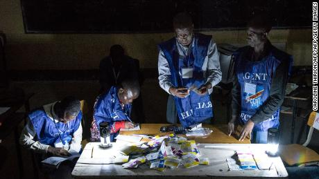 Congo opposition candidate slams irregularities in presidential vote