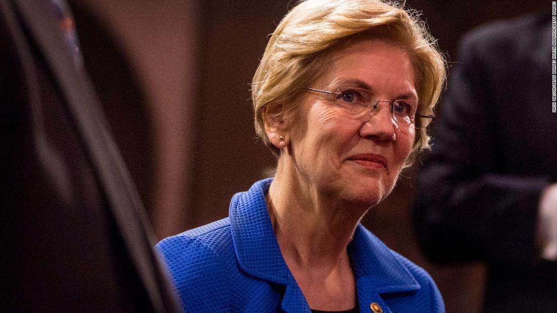 Elizabeth Warren is running as the wonky professor