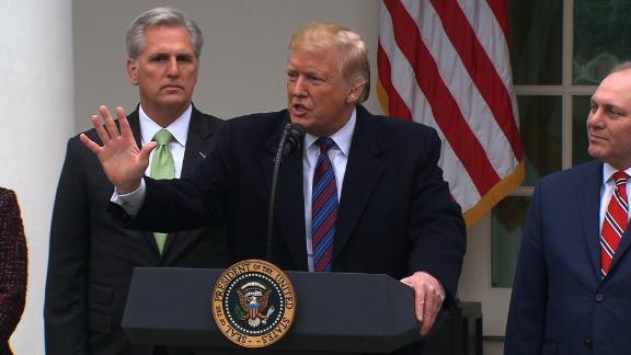 President Trump rose garden