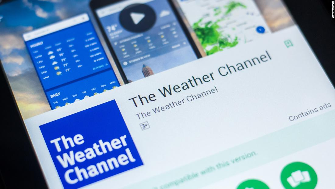 weather channel app sued over alleged mining of users u0026 39  data