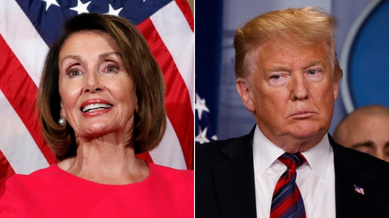 Trump Denies Pelosi Military Aircraft For War Zone Trip Cnnpolitics