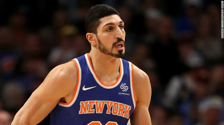 8acfadbd3 Enes Kanter  New York Knicks center on death threats and safety ...