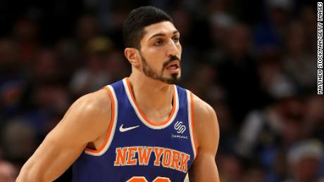Enes Kanter: 'Besides America, I don't feel safe anywhere in the world'