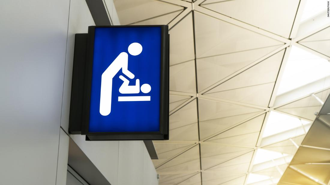 New York now requires changing tables in public men's restrooms