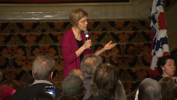 Sen. Elizabeth Warren Iowa